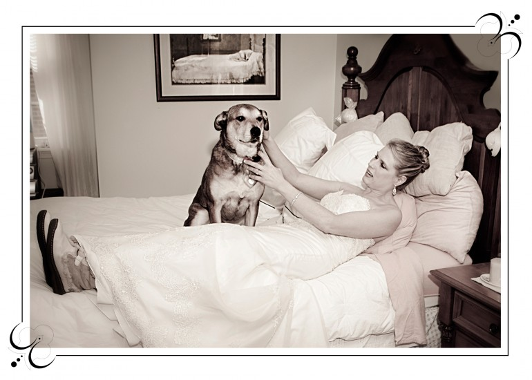 09 bride with dog