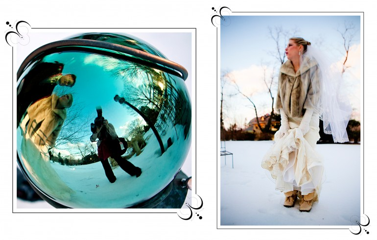 20 snow globe wedding